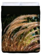 Decorative Grass Wind Autumn And Orton Duvet Cover