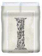 Decorative Letter Type I 1650 Duvet Cover