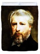 Dedication To William Adolphe Bouguereau Duvet Cover