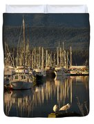 Deep Bay Duvet Cover