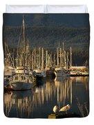 Deep Bay Duvet Cover by Randy Hall