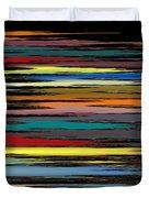 Deep Color Field 2 Duvet Cover