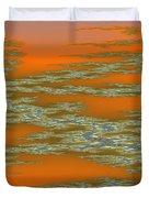 Deep Color Field 3 Duvet Cover