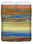 Deep Color Field 4 Duvet Cover