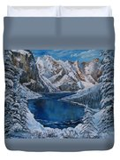 Deep Dark  And Cold Duvet Cover