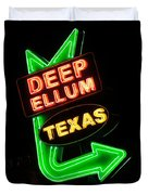 Deep Ellum Duvet Cover