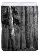 Deep Forest Duvet Cover by Leland D Howard