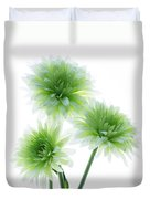 Deep In The Roots All Flowers Keep The Light Duvet Cover