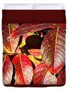 Deep Into Autumn Duvet Cover