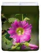 Deep Pink Beauty Duvet Cover