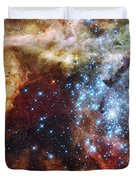 Deep Space Fire And Ice  Duvet Cover