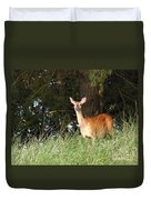 Deer At Dusk V3 Duvet Cover