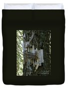 Deer Blind 01 Duvet Cover