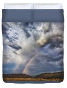 Deer Creek Storm Duvet Cover