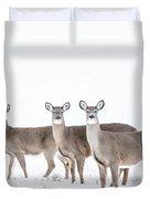 Deer Deer Deer Duvet Cover