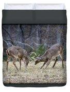 Deer Discussion E167 Duvet Cover