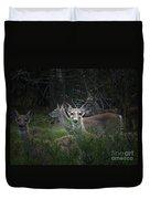 Deer Family Duvet Cover