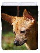 Deer-head Chihuahua Duvet Cover
