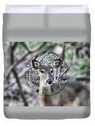 Deer Hunter's View Duvet Cover