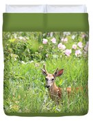 Deer In Magee Marsh Duvet Cover