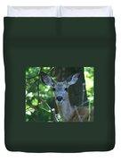 Deer In The Woods Duvet Cover