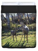 Deer Kiss Duvet Cover