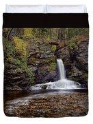 Deer Leap Falls Duvet Cover