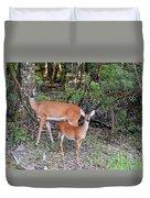 Deer Mom 2 Duvet Cover