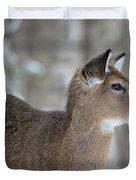 Deer Profile Duvet Cover
