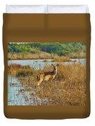Deer The Point Hatteras Nc 2 12/5 Duvet Cover