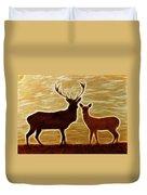 Deers Lookout Duvet Cover