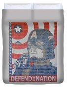 Defend The Nation Duvet Cover