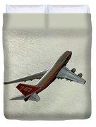 Definition - Boeing 747 Duvet Cover