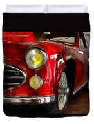 Delahaye 235 - Automobile   Duvet Cover