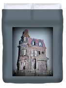 Delapitated Victorian Mansion Duvet Cover