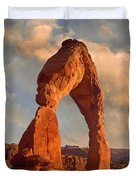 Delicate Arch In Arches National Park Duvet Cover