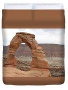 Delicate Arch Landscape Duvet Cover