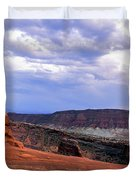 Delicate Arch Located In Arches Duvet Cover