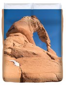 Delicate Arch South Side  Duvet Cover