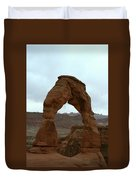 Delicate Arch View Duvet Cover
