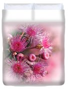 Delicate Buds And Blossoms Duvet Cover