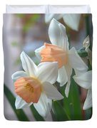 Delicate Daffodils  Duvet Cover