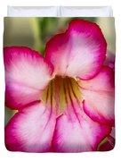 Delicate Desert Rose Duvet Cover
