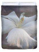 Delicate Hibiscus Duvet Cover