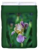 Delicate Iris Duvet Cover