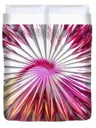 Delicate Orchid Blossom - Abstract Duvet Cover