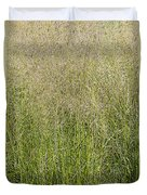 Delicate Tall Grasses Duvet Cover
