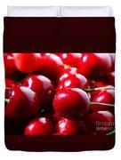 Delicious Cherries Duvet Cover