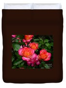 Delicious Summer Roses Duvet Cover