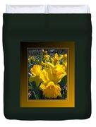 Delightful Daffodils Duvet Cover